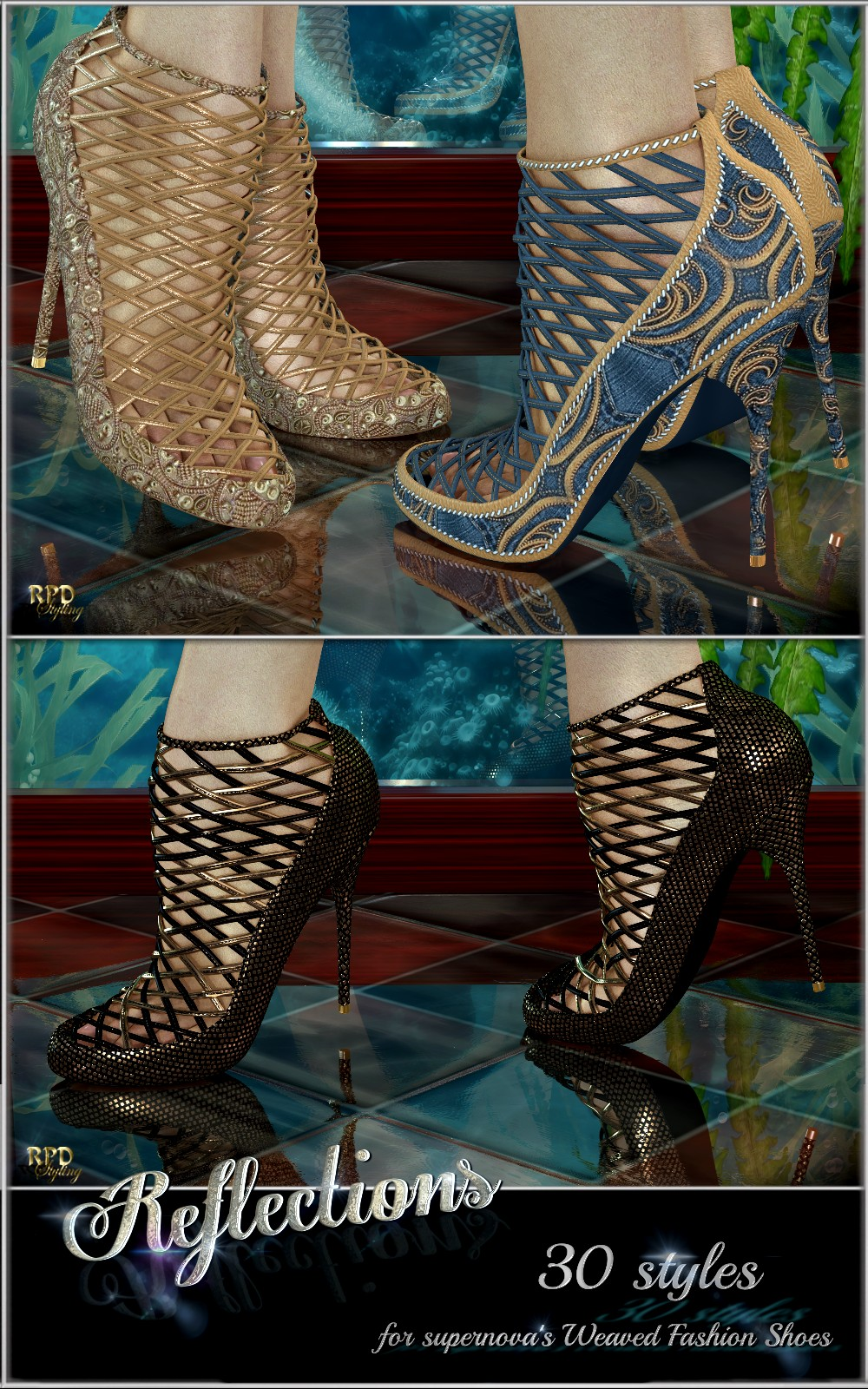 Woven Fashion Shoes - Reflectionsbyrenapd()