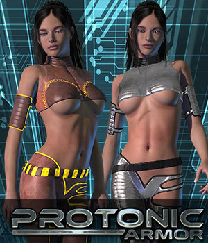 Exnem Protonic Armor for V4 3D Figure Essentials exnem