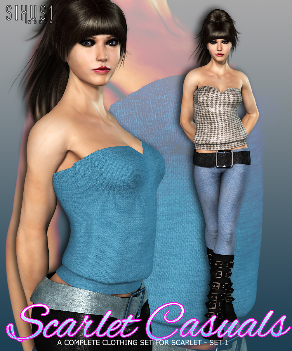 Scarlet Casuals Set 1 by sixus1