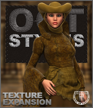 ROYAL STYLES for Penny Dreadfull & MFD Exp 1 & 2 Packs for G2F 3D Figure Essentials outoftouch
