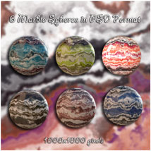 Marble Magic Layered Backgrounds image 3