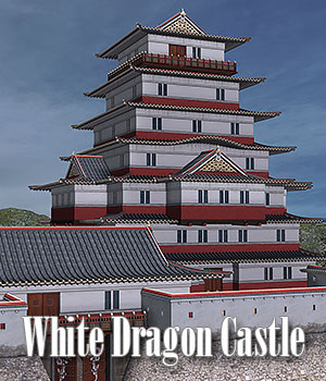 White Dragon Castle 3D Models ile-avalon