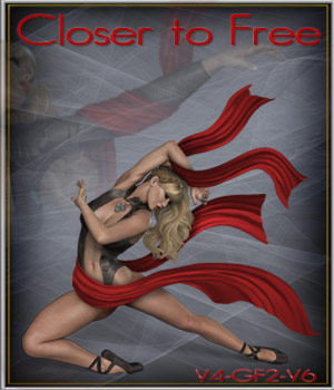 Closer toFree 2D Graphics 3D Figure Assets ilona