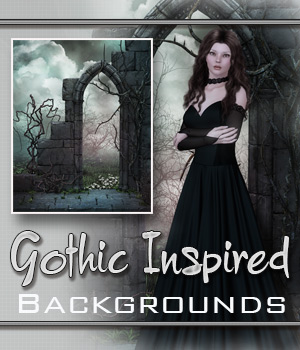 Gothic Inspired 2D Graphics Bez