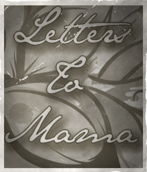 Letters to Mama 2D Graphics Belladzines