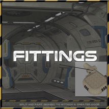 Ship Elements D3: Canteen and Staff Quarters image 4