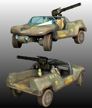 N7 ARMOURED CAR 3D Models Ourias3D