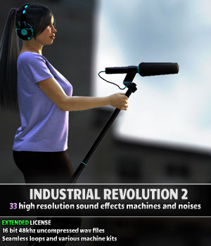 Industrial Revolution 2 - Extended License Extended Licenses Merchant Resources Music  : Soundtracks : FX ShaaraMuse3D