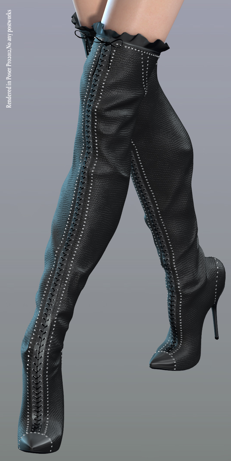 Bejeweled Boots