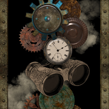 Interactive Steampunk Backgrounds image 3