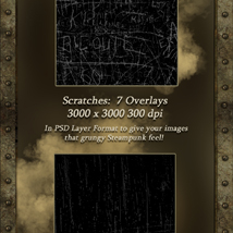 Interactive Steampunk Backgrounds image 4