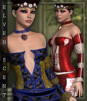 Elven Scent for Elven Groove 3D Figure Essentials sandra_bonello