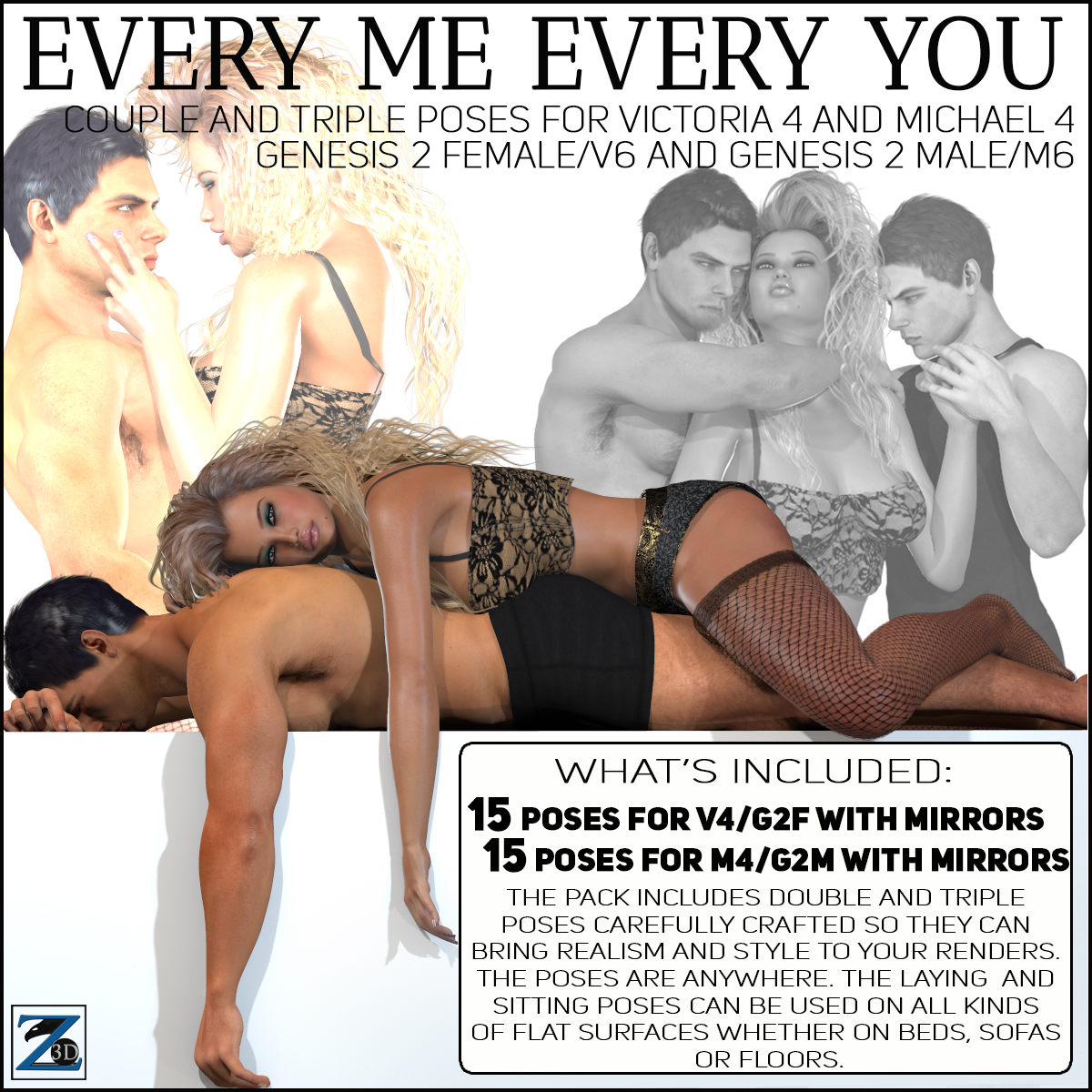 Z Every Me Every You - V4-V6-G2F-M4-M6-G2M