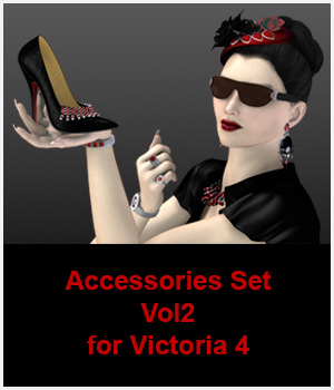 Accessories Set Vol 2 by ICRDesign