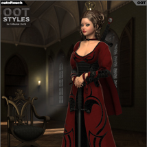 ROYAL STYLES for Arthurian Outfit for Genesis 2 Female(s) image 2