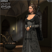 ROYAL STYLES for Arthurian Outfit for Genesis 2 Female(s) image 4