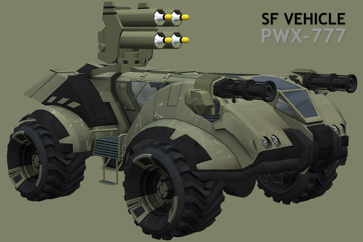 SF vehicle PWX-777