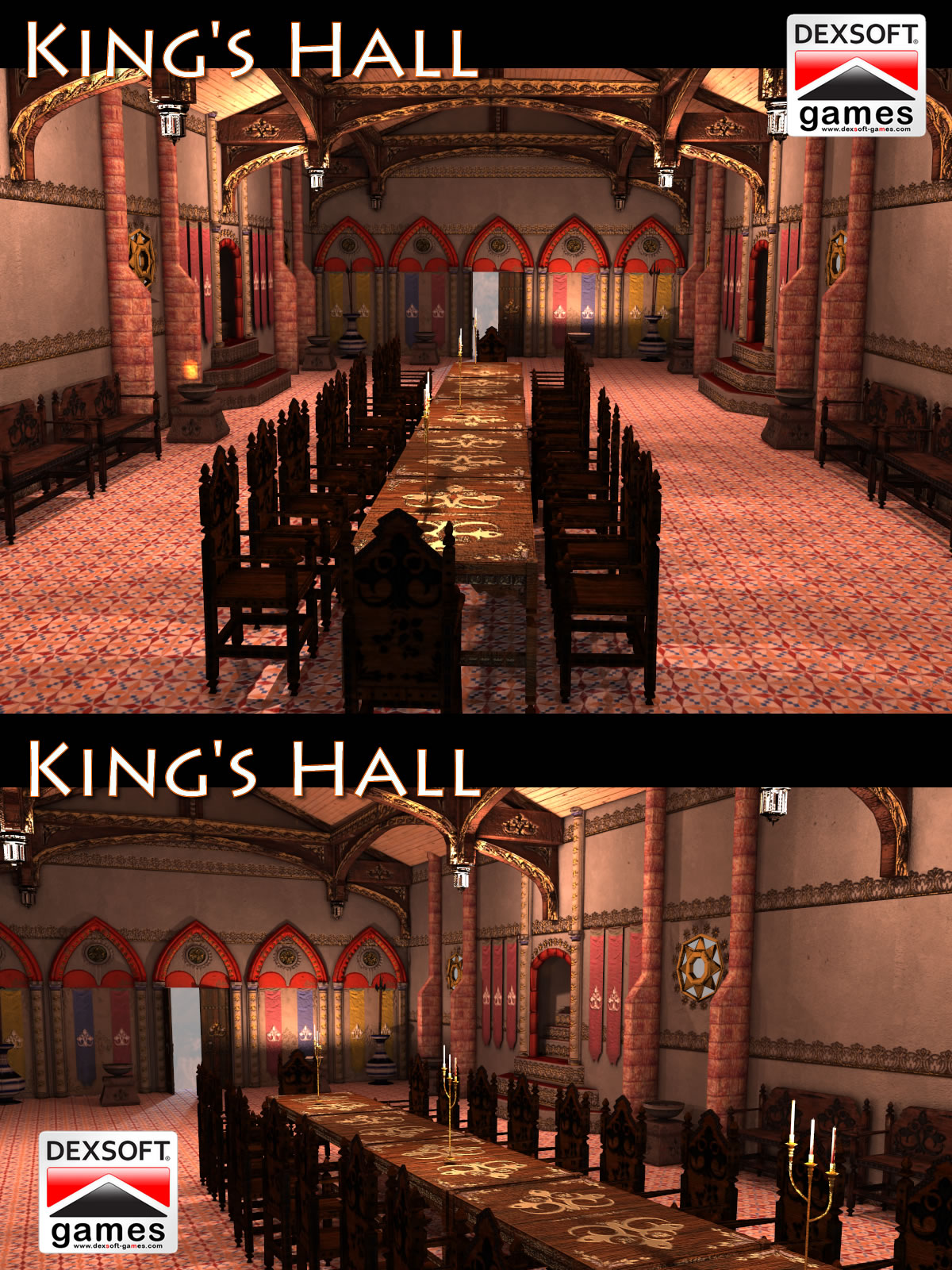 King's Hall by dexsoft-games