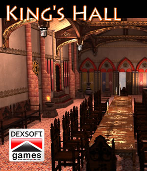 King's Hall 3D Models dexsoft-games
