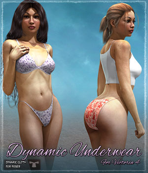 Dynamic Underwear 3D Figure Essentials ShaaraMuse3D