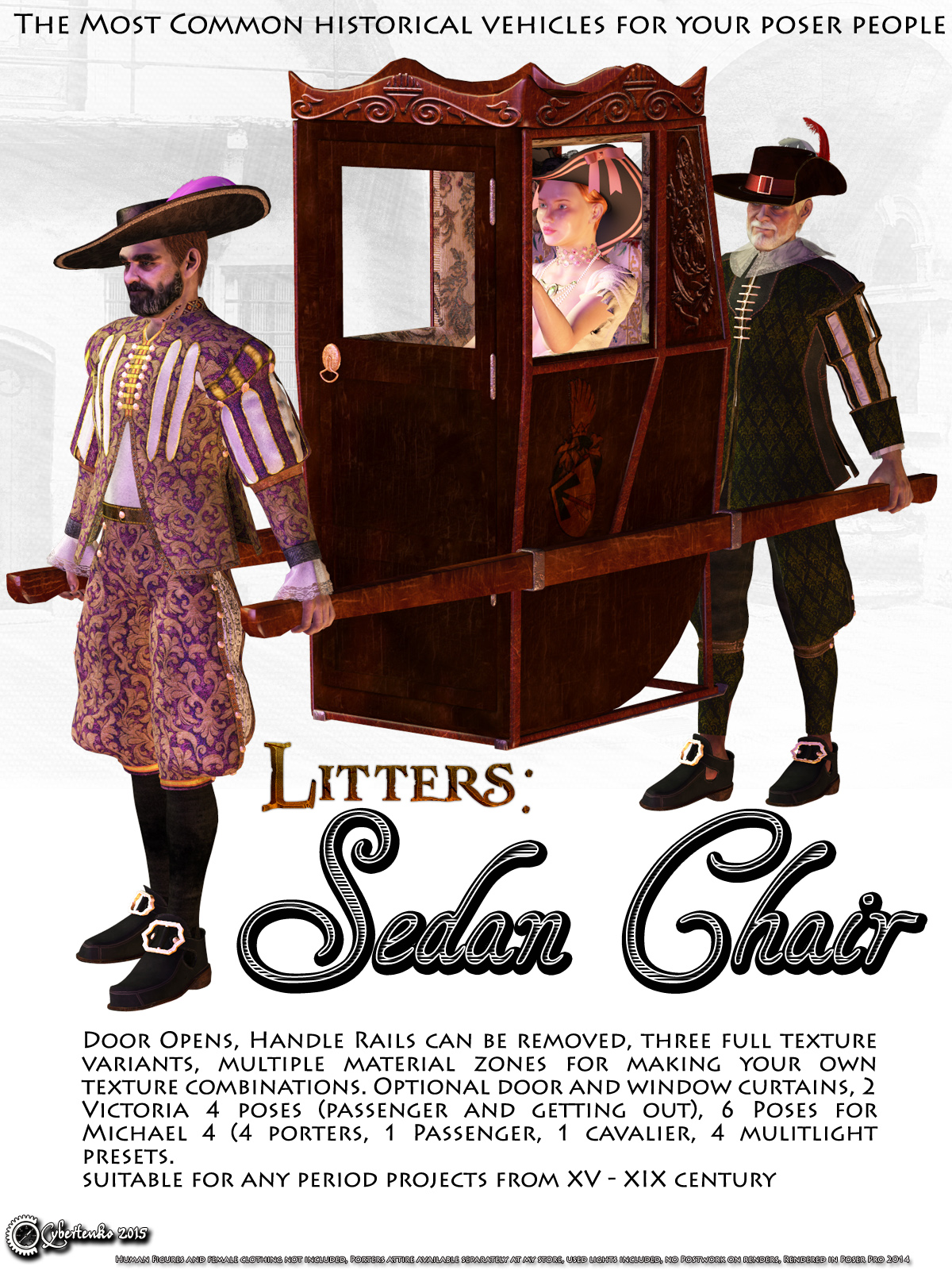 Litters: Sedan Chair