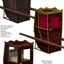 Litters: Sedan Chair image 2