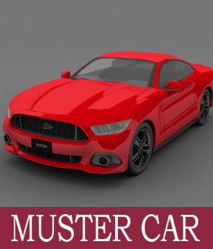 Muster Car 3D Models TruForm
