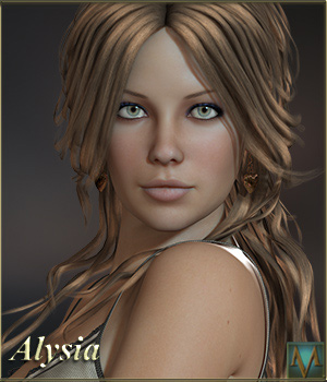 MRL Alysia for Victoria 4.2 3D Figure Assets Mihrelle
