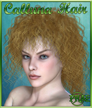 Prae-Calluna Hair 3D Figure Essentials prae