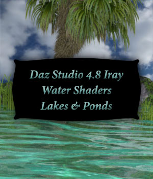 Iray Water Shaders  Lakes And Ponds 3D Figure Essentials fictionalbookshelf