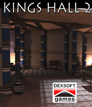 King's Hall 2. 3D Models dexsoft-games