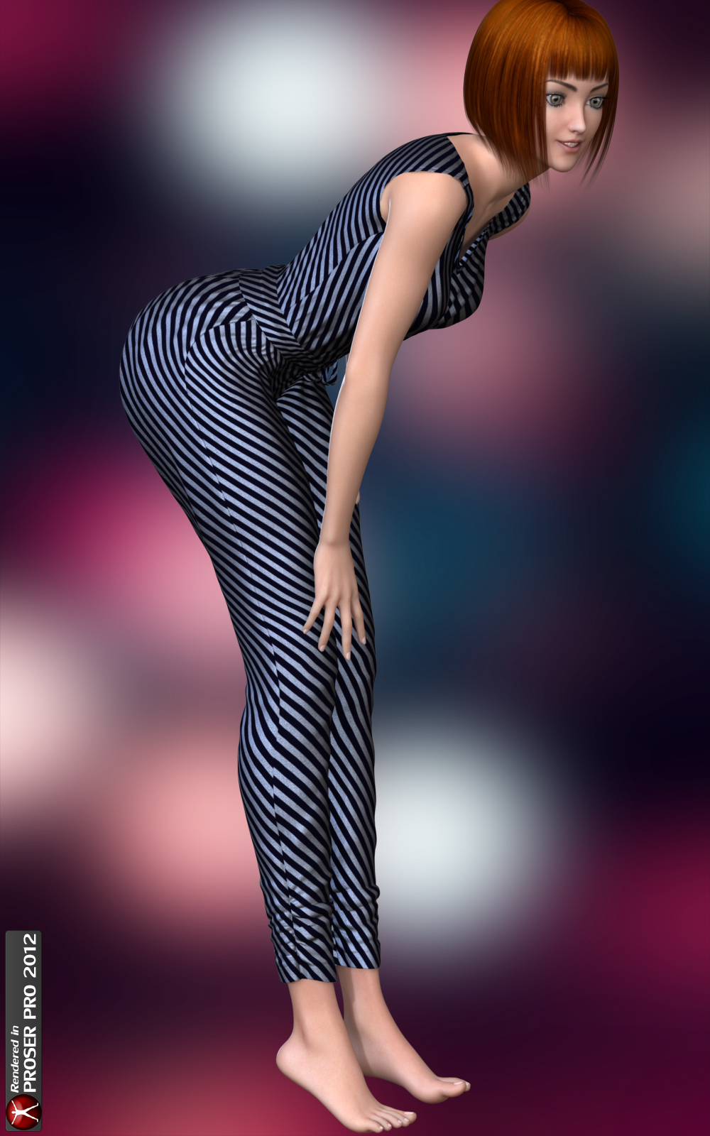 Party Jumpsuit for Genesis 2 Female(s)