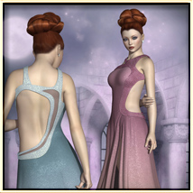 Faxhion - Glamorous Evening Gown image 1
