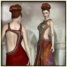 Faxhion - Glamorous Evening Gown image 2