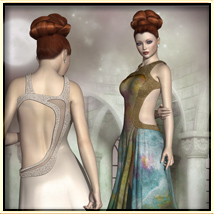 Faxhion - Glamorous Evening Gown image 3
