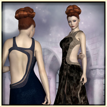Faxhion - Glamorous Evening Gown image 4