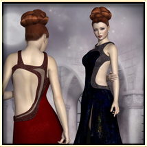 Faxhion - Glamorous Evening Gown image 7
