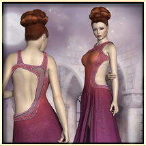 Faxhion - Glamorous Evening Gown image 8