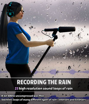 Recording the Rain Gaming Merchant Resources ShaaraMuse3D