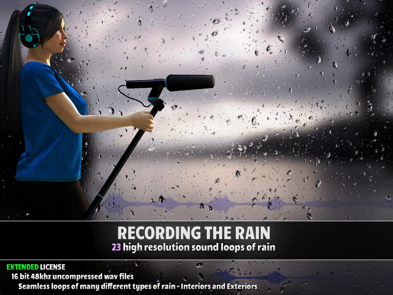 Recording the Rain - Extended License