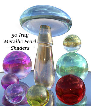Iray Metallic Pearl Shaders 3D Figure Essentials fictionalbookshelf