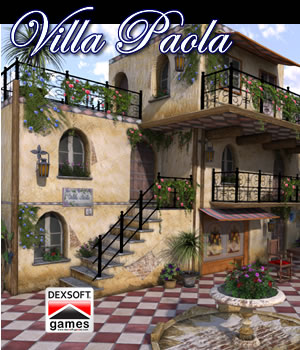 Villa Paola 3D Models dexsoft-games