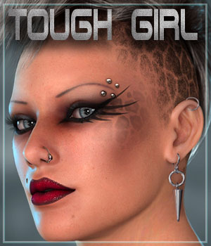 MDD Tough Girl for V4.2 3D Figure Assets Maddelirium