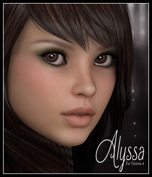 SV7 Alyssa 3D Figure Essentials Seven
