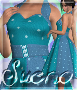 ALXN Sueno for Paige Dress 3D Figure Essentials alexaana