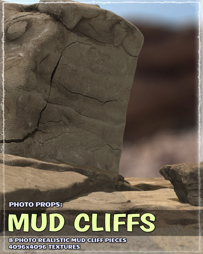 Photo Props: Mudcliffs