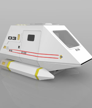 Shuttle Model XV (for Poser) 3D Models VanishingPoint