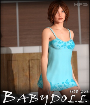 HFS Babydoll for G2F 3D Figure Essentials DarioFish