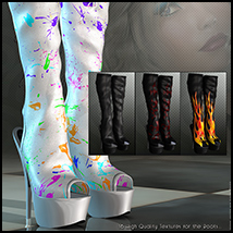 Vogue for Hot Pepper Boots image 1
