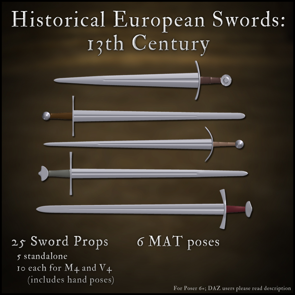 Historical European Swords: 13th Century